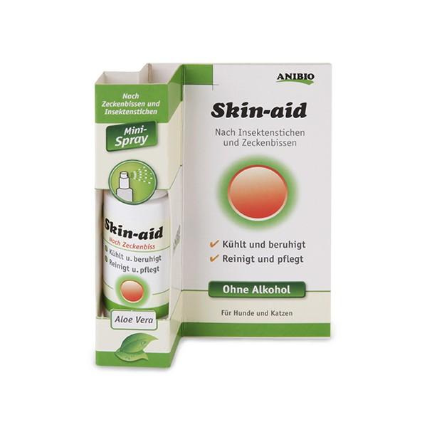 Skin-aid nach Insektenbissen