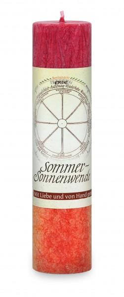 Allgäuer Heilkräuterkerze Sommer- Sonnenwende