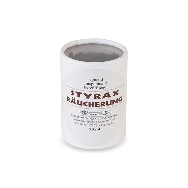 Styrax Räucherung