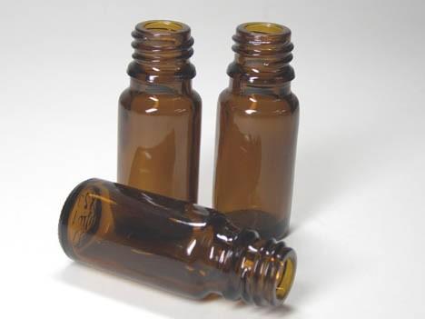 Braunglasflasche