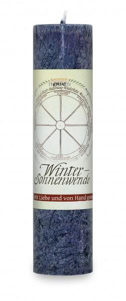 Allgäuer Heilkräuter-Kerze - Winter Sonnwende