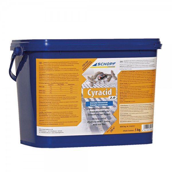 Cyracid 2.0 Granulat gegen Fliegenmaden
