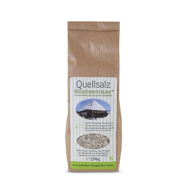 Quellsalz mit 10 % Bio-Kräuter