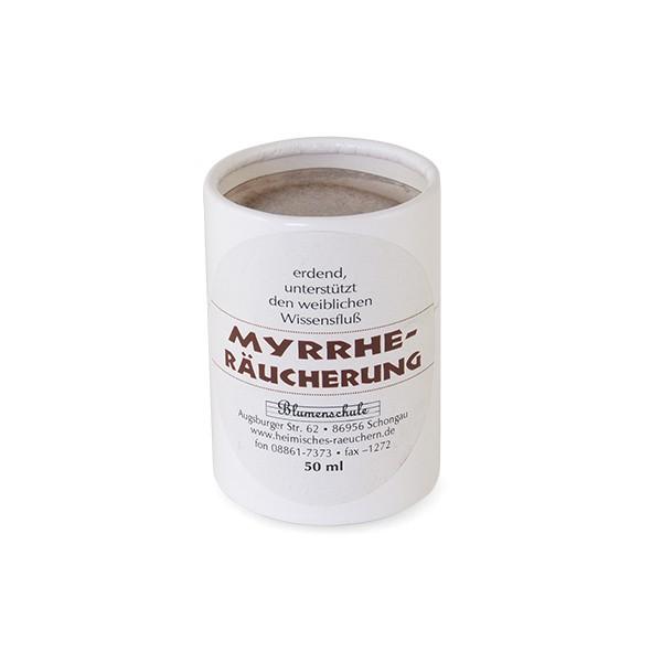 Myrrhe-Räucherung
